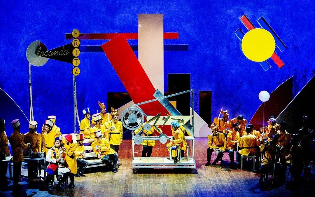 PIETRO IL GRANDE, KZAR DELLE RUSSIE at the Donizetti Opera Festival of Bergamo