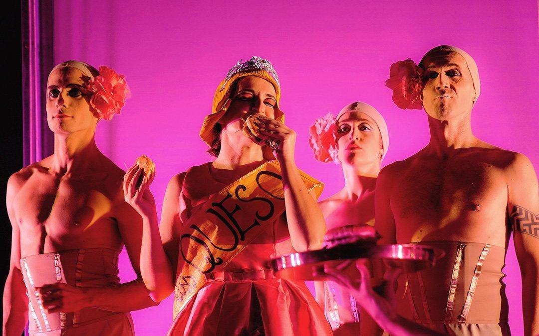 TERRAMIA – Our debut in the U.S.A. at La MaMa Experimental Theatre Club