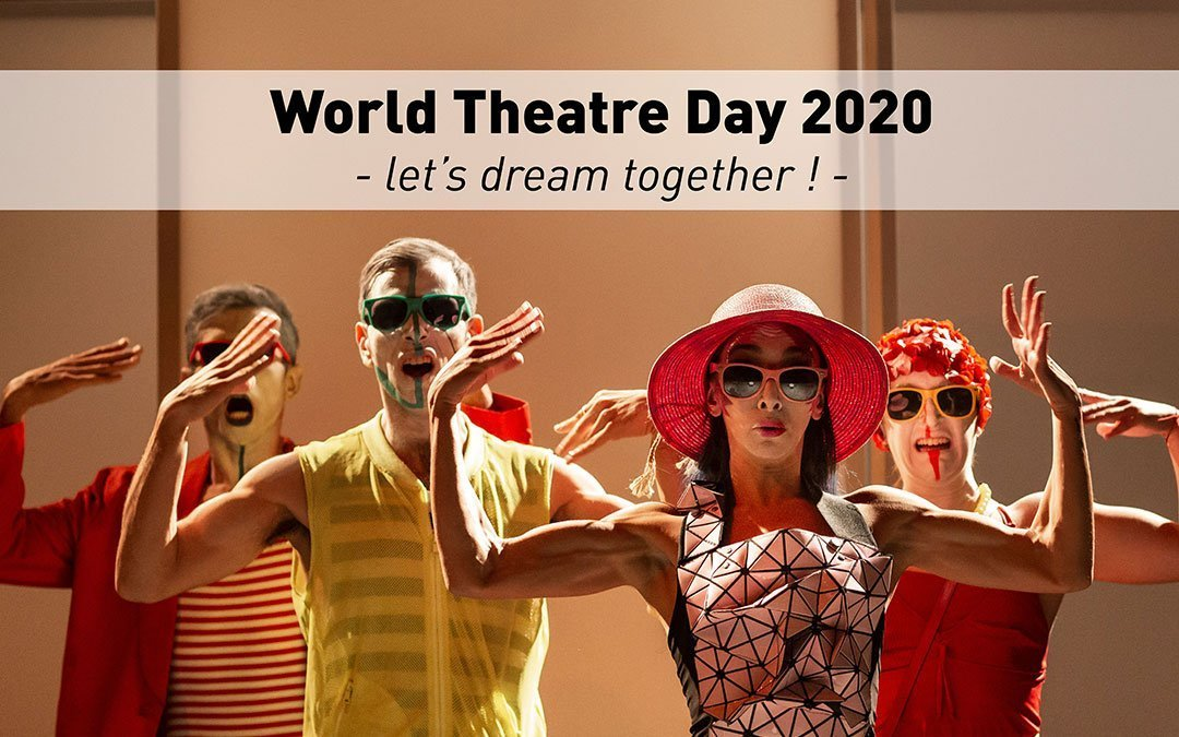 This is not at all what you were expecting for World Theatre Day 2020, is it?