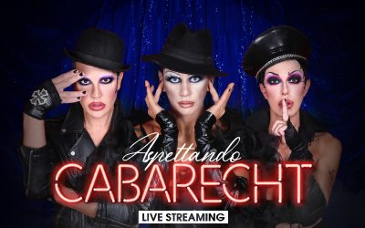 "A new adventure for us in the World of Drag with our new show ""Aspettando CABARECHT""!"