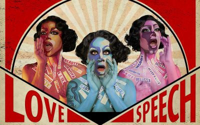 The first edition of Drag Me Up – Queer Arts Festival took place on 31 March 2021